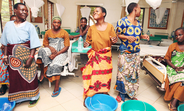 Fistula Patients celebrating the healing
