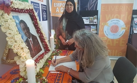 ributes to the late UNFPA Executive Director, Dr. Babatunde Osotimehin
