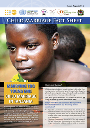 Child Marriage Factsheet