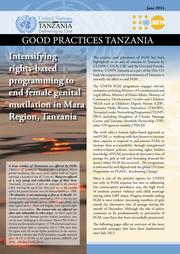 FGM Good Practices Mara Region